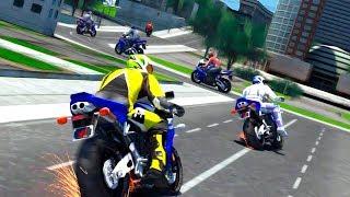 Moto Racer 2017 HD - Gameplay Android game - moto bike racing