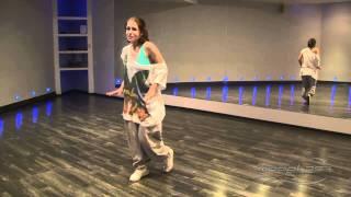 Анна Дельцова - урок 4 [Hip-Hop]