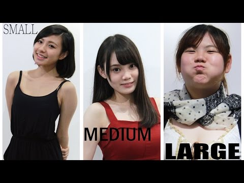 細, 中, 大碼 女孩 -S,M,L Girls (Small, Medium, Large Girls)