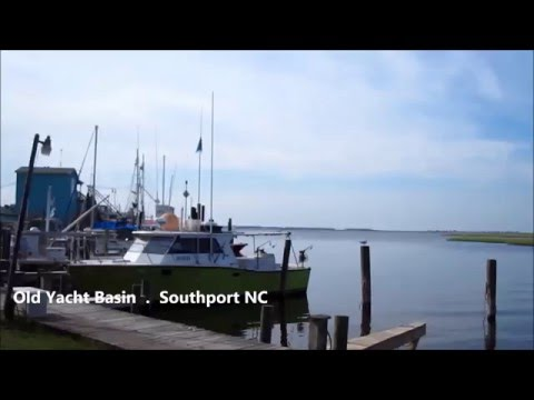 .054 Waterfront at Southport North Carolina - Cape Fear River