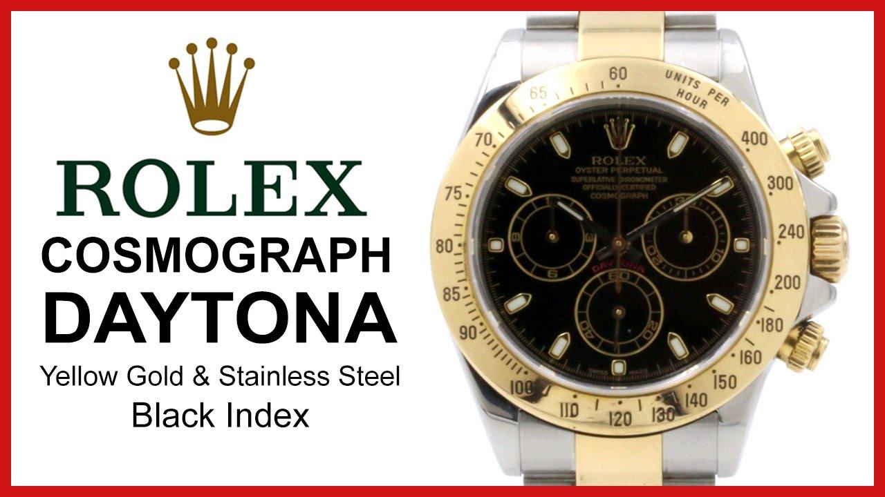 Rolex Cosmograph Daytona Two-Tone 319adc2d519