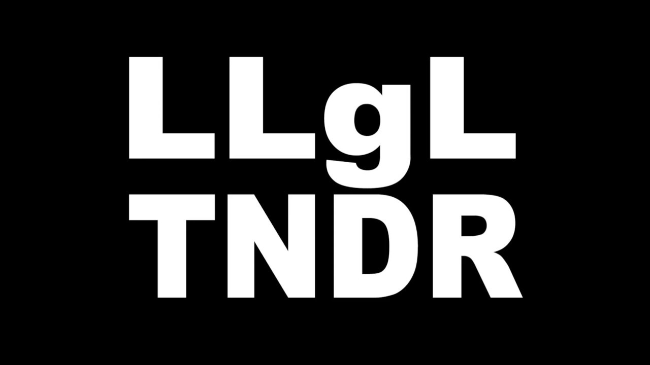 """Download LLgL TNDR """"Enormous"""" (Unauthorized Video #1)"""