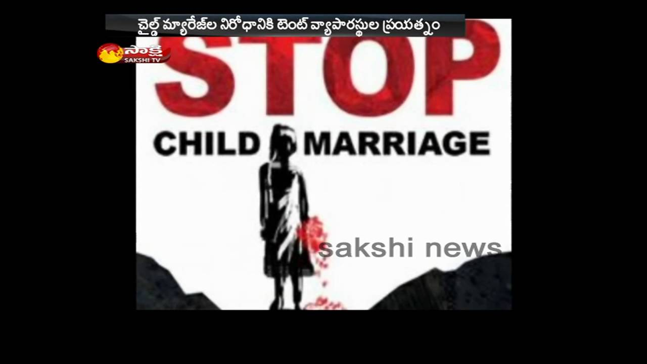 Marriage Tent Dealers Of Rajasthan Say No To Child Marriages Youtube