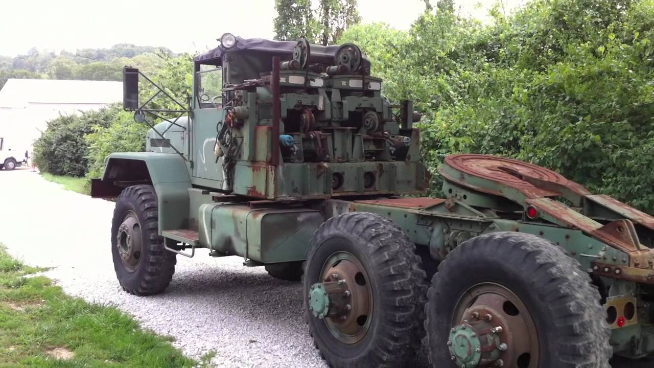 1969 Mack M123e2 10 Ton Military Tractor Truck 2 Youtube