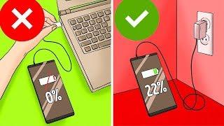 TOP 5 Chyby, které děláme při nabíjení mobilu