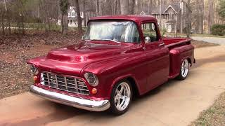 Final look at the 1955 Chevy truck
