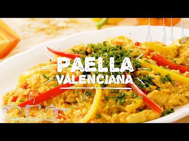 Paella Valenciana - Sabor com Carinho (Tijuca Alimentos)