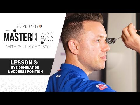 A Live Darts Masterclass | Lesson 3 - How To Sight Your Darts