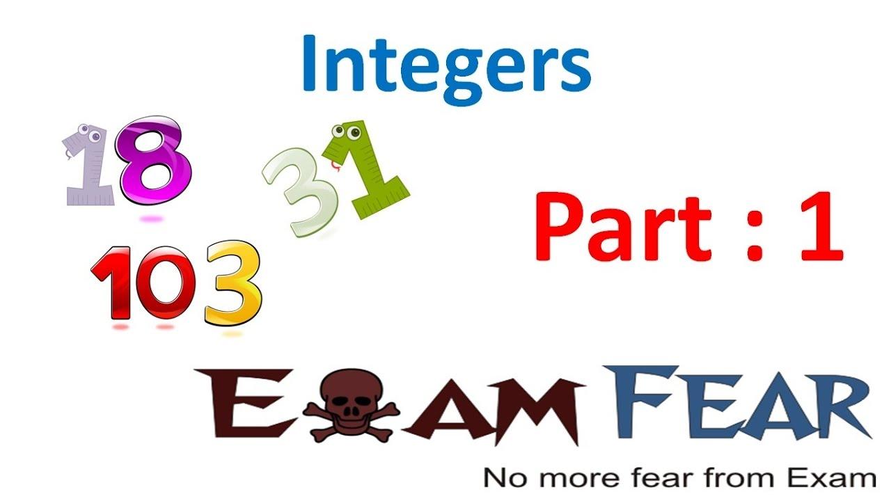 Maths Integers part 1 (Introduction) CBSE Class 6 Mathematics VI