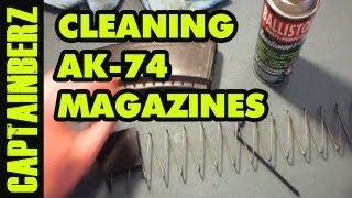 Cleaning a AK-74 Magazine (Bulgarian Circle 10, 21, 25)