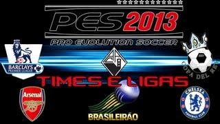Como licenciar times, ligas/copas, emblemas PES 2013