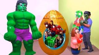 Huevo gigante de Sorpresa de Hulk (Vengadores) -  Giant Egg Surprise Hulk (Avengers)