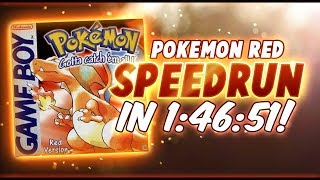 Pokemon Red Speedrun in 1:46:51! (Current 2nd Place)