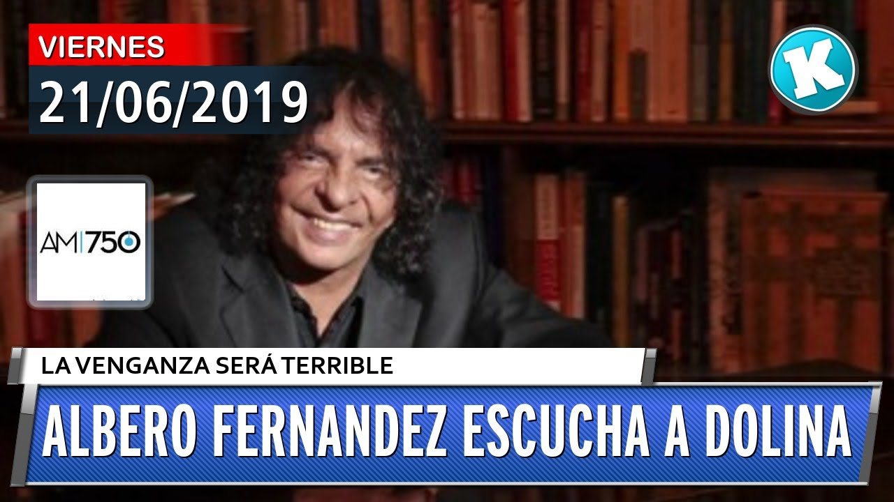 Albero Fernandez escucha a Dolina