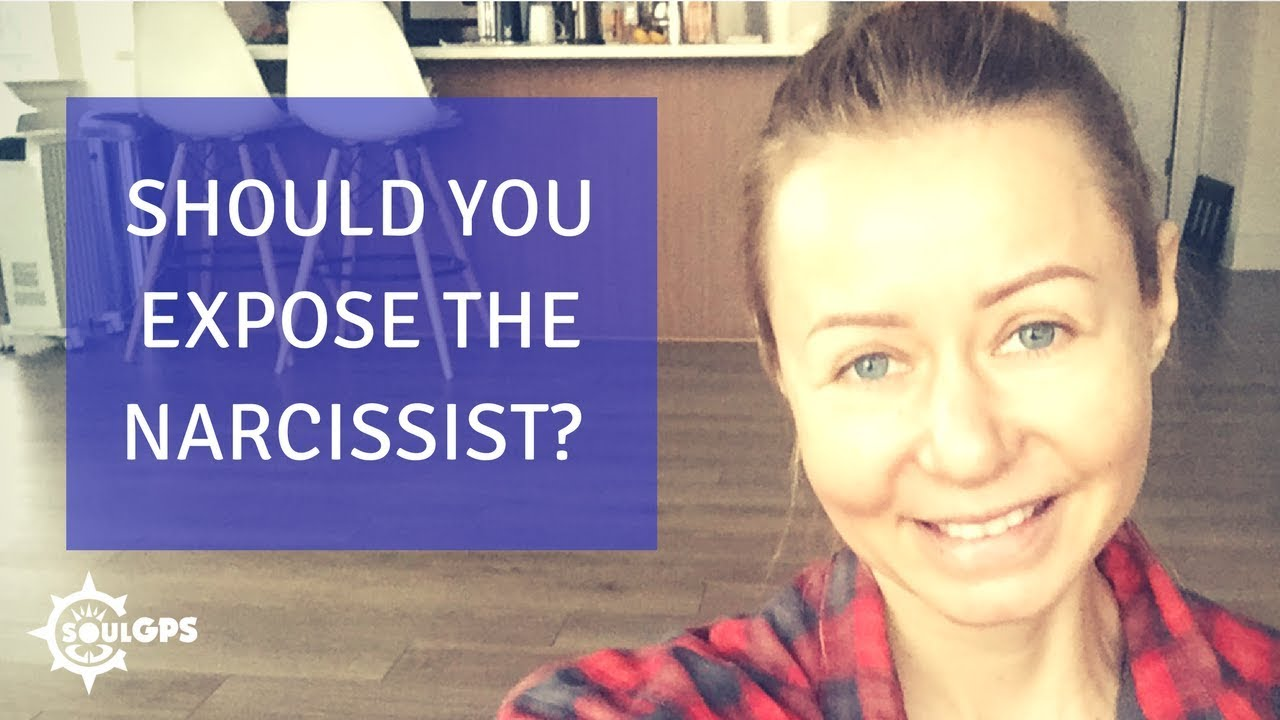 Should You Expose the Narcissist?