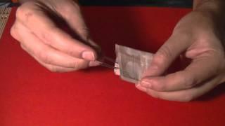trucos de magia caseros como unir dos clips con un billete revelado nuevo
