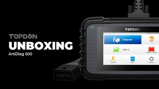 What's In the TOPDON OBD2 Scanner ArtiDiag500 Box?