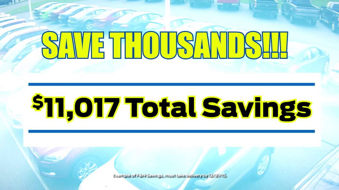 Ford S Holiday Sales Event Is Here Youtube
