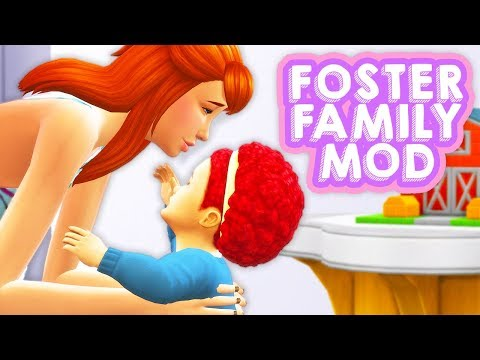 BRING IN FOSTER KIDS & PETS? // FOSTER HOME MOD | THE SIMS 4 – MOD REVIEW thumbnail