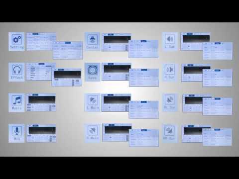 Acesonic DSP-9800 Karaoke & Cinema Digital Processor/Mixer with Touch Screen