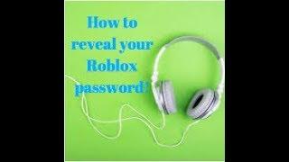 Roblox (en anglais) Comment révéler votre mot de passe si vous l'avez oublié!