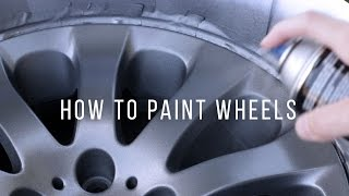 How to Paint/Restore Your Wheels