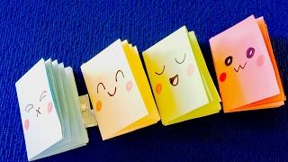 DIY crafts: Как сделать Мини блокноты своими руками.