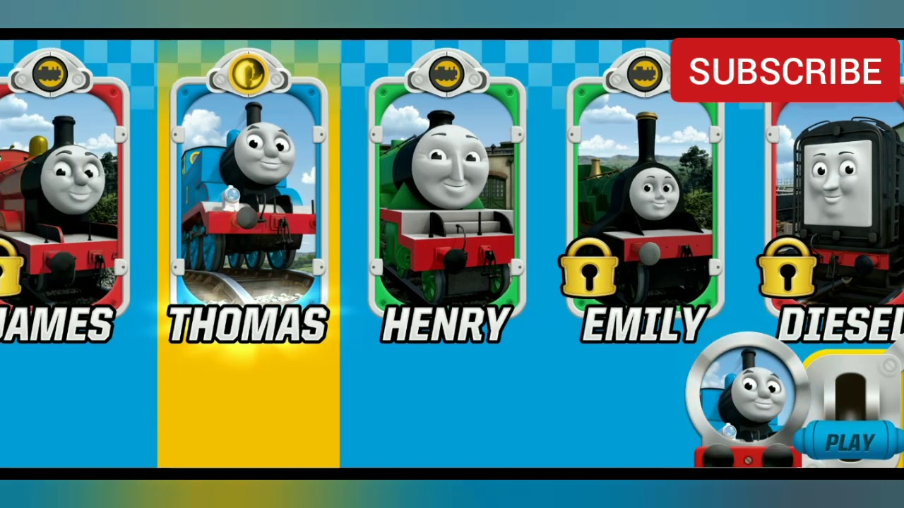 THOMAS AND FRIENDS GAME FOR KIDS - RACING GAMEPLAY FOR ANDRIOD