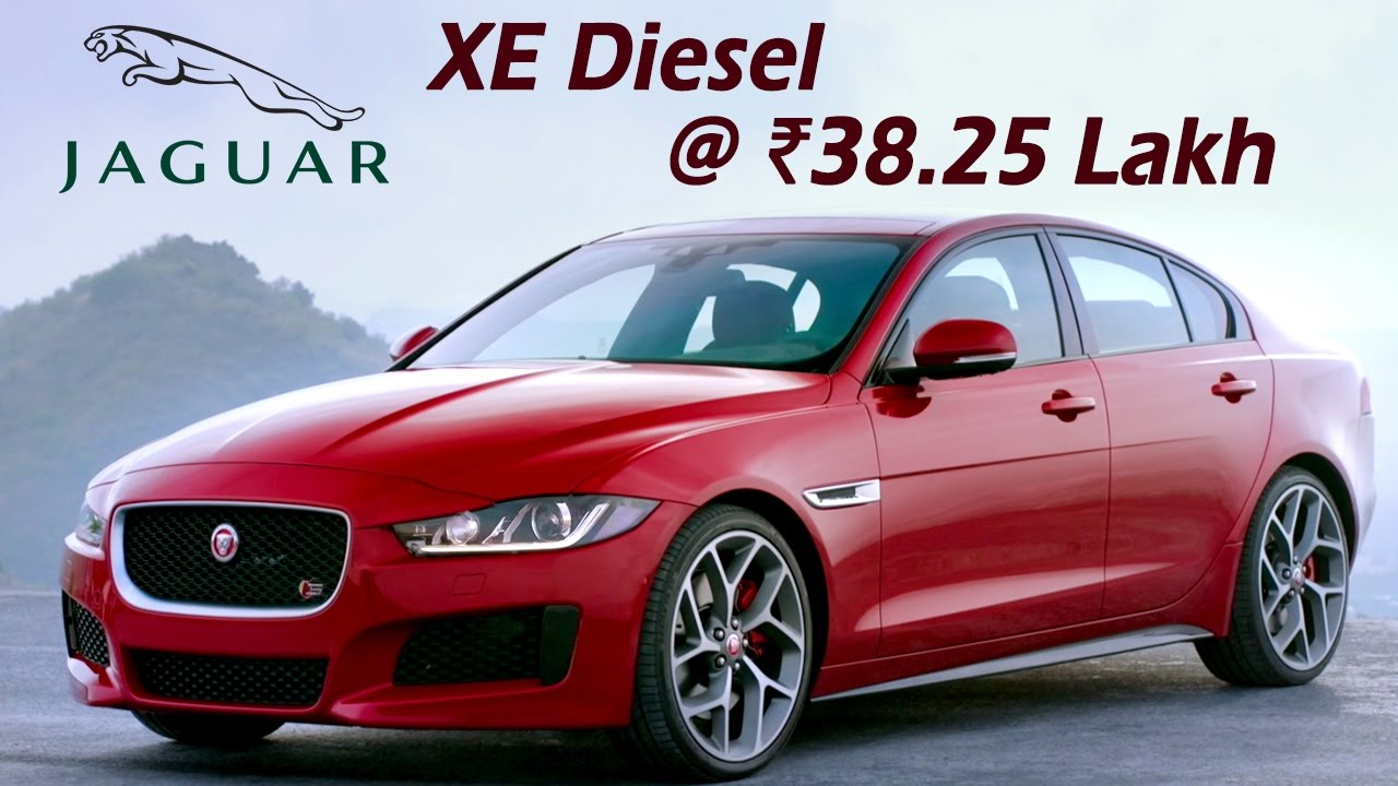 Jaguar Xe Diesel 2017 Launched In India 38 25 Price