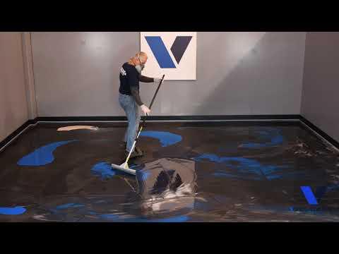 Lava Flow® Metallic Epoxy Flooring Part 2