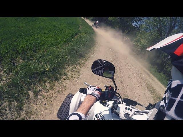 Just a little ride out | LTZ400 + KFX400 | fellows