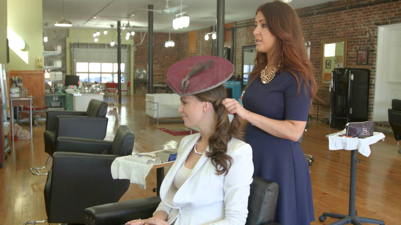 Hairstyles With Fascinators 2 Youtube