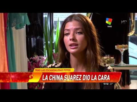 La China Suárez a fondo, para un medio chileno: Benjamín me hace muy feliz y eso es lo único que importa