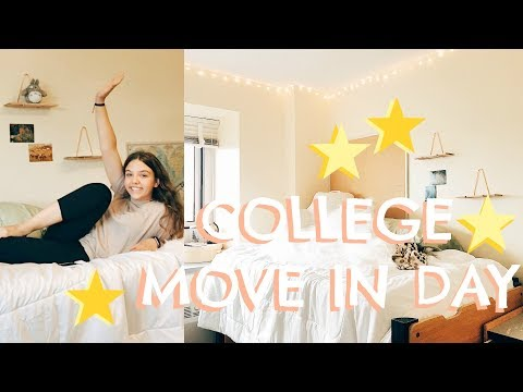 2017 COLLEGE DORM MOVE IN VLOG // MICHIGAN STATE UNIVERSITY