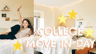 COLLEGE DORM MOVE IN VLOG // MICHIGAN STATE UNIVERSITY