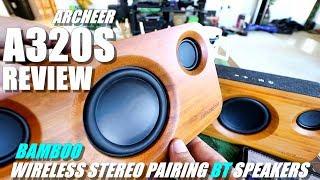 ARCHEER A320S Bluetooth Speaker Review - Unique Style & Big Sound