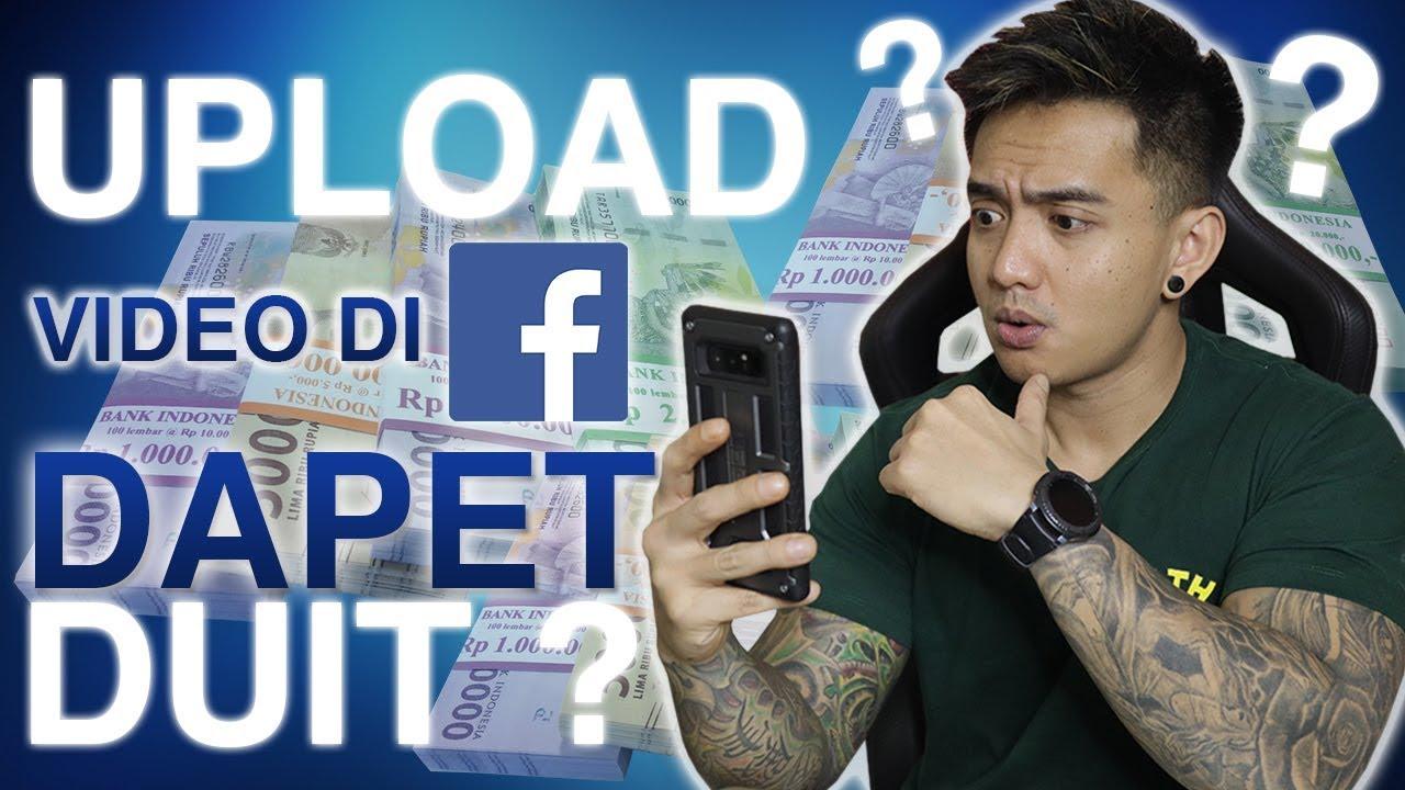 cara mendapatkan uang dari facebook for creators upload video dapet duit