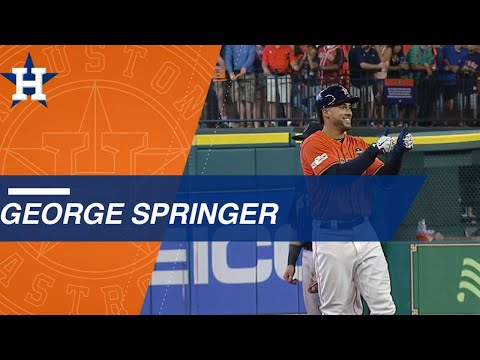 George Springer's strong ALDS performance