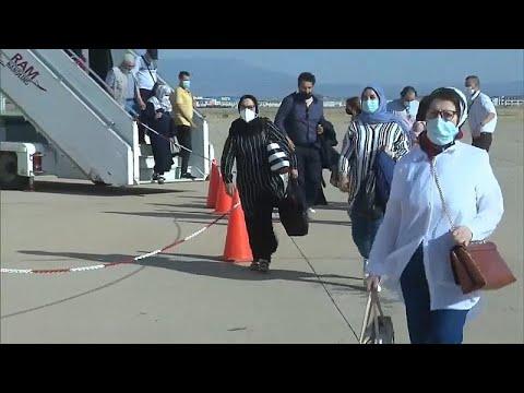 شاهد: وصول أول رحلة طيران لمغاربة مقيمين بالخارج إلى مطار وجدة بعد فتح الحدود…  - نشر قبل 2 ساعة