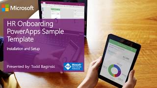This video describes how to install and setup the hr onboarding powerapps sample. download sample from github: https://github.com/sharepoint/sp-powerapp...