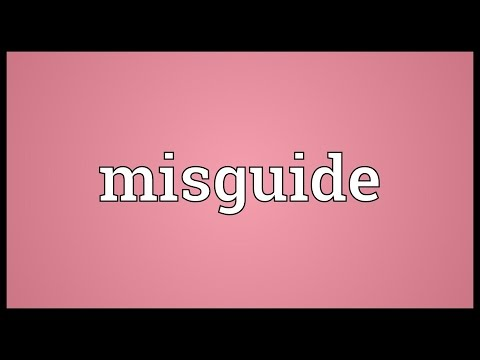 Header of misguide