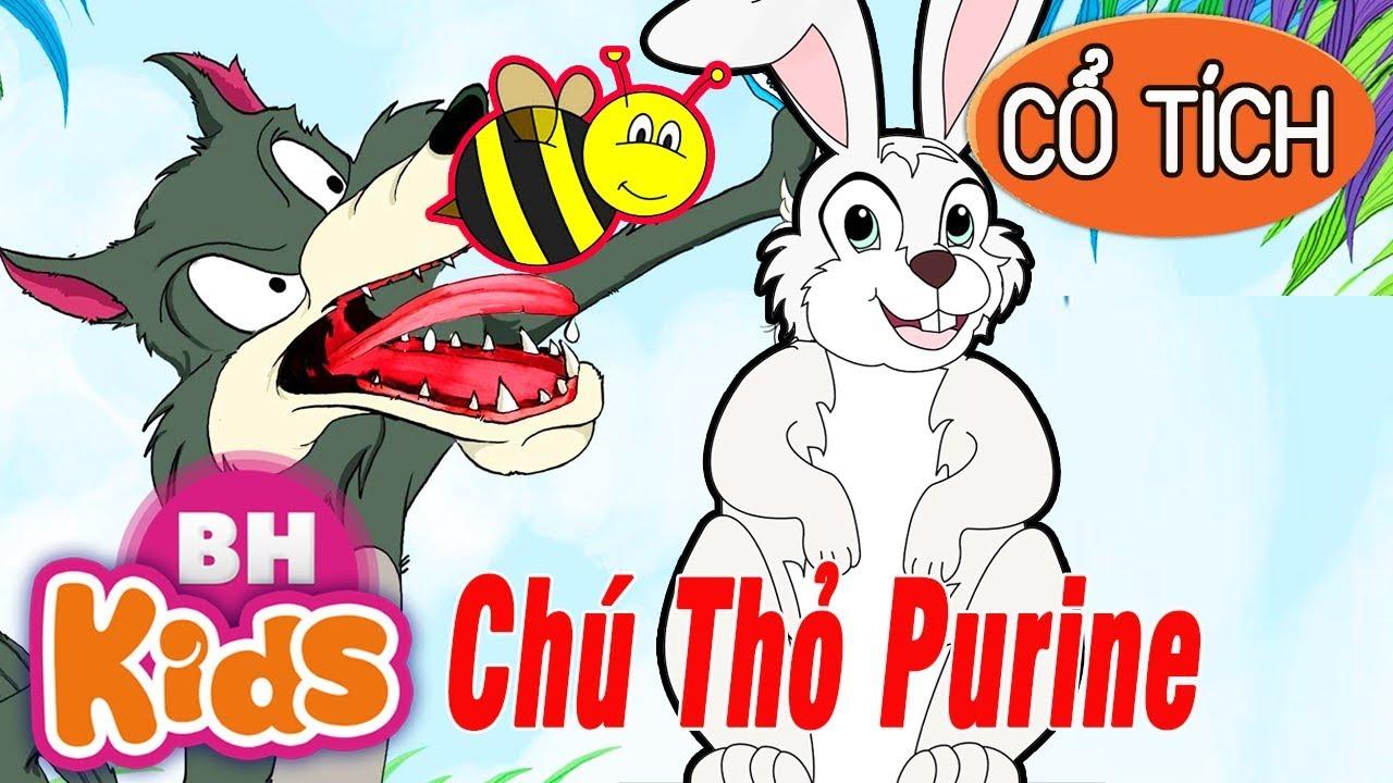 TRUYỆN CỔ TÍCH VIỆT NAM - Chú Thỏ Purine và Sói Già | Chuyện Cổ Tích Hay Nhất