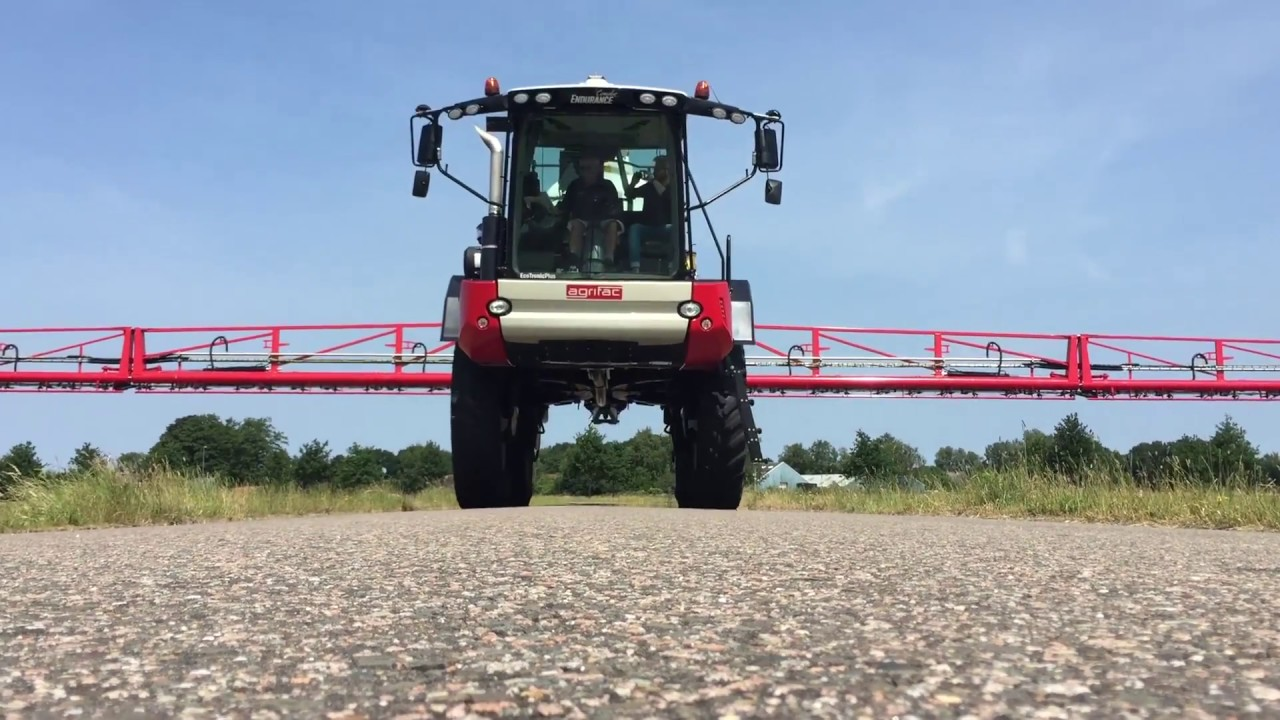 Eric Watson about his World Record Wheat Yield, the Agrifac Condor and his  new Condor Endurance
