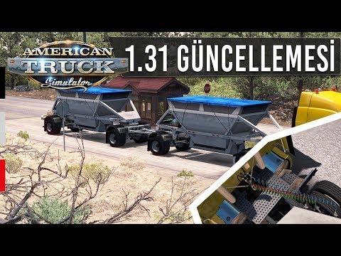 American Truck Simulator 1.31 Güncellemesi: Dorse Kabloları, Tiago Geçidi