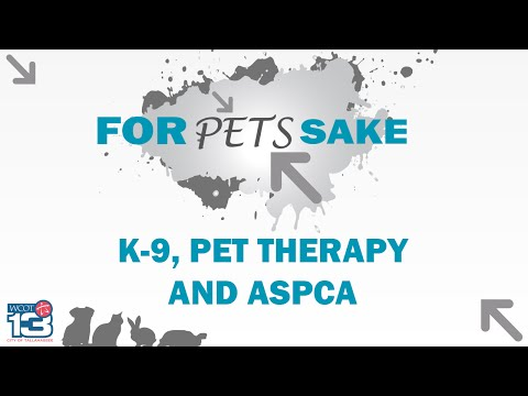 For Pets Sake - K-9, Pet Therapy, and ASPCA