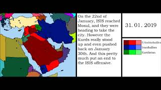 War Simulation: The Great Middle Eastern War (by week)