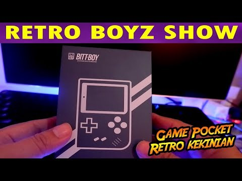 WOW ADA GAME POCKET RETRO KEKINIAN! - BITT-BOY - 동영상