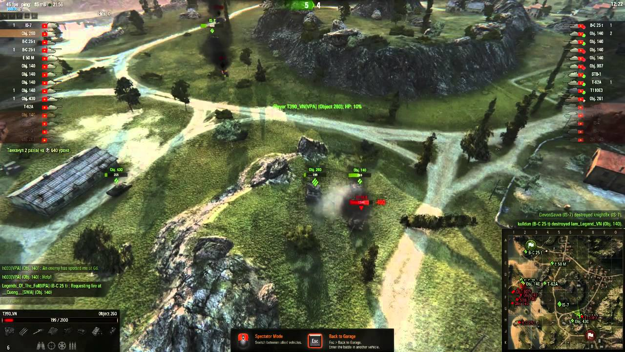 World of Tanks Asia - VPA stronghold live 28/08/2015