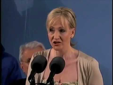 JK Rowling speech at Harvard 2008 commencement 'The Fringe Benefits of Failure'
