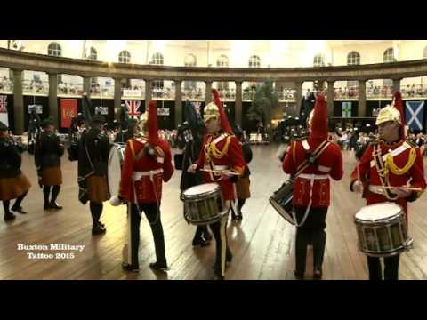 Buxton Military Tattoo 2015 - Pipes & Drums of The Royal Dragoon Guards